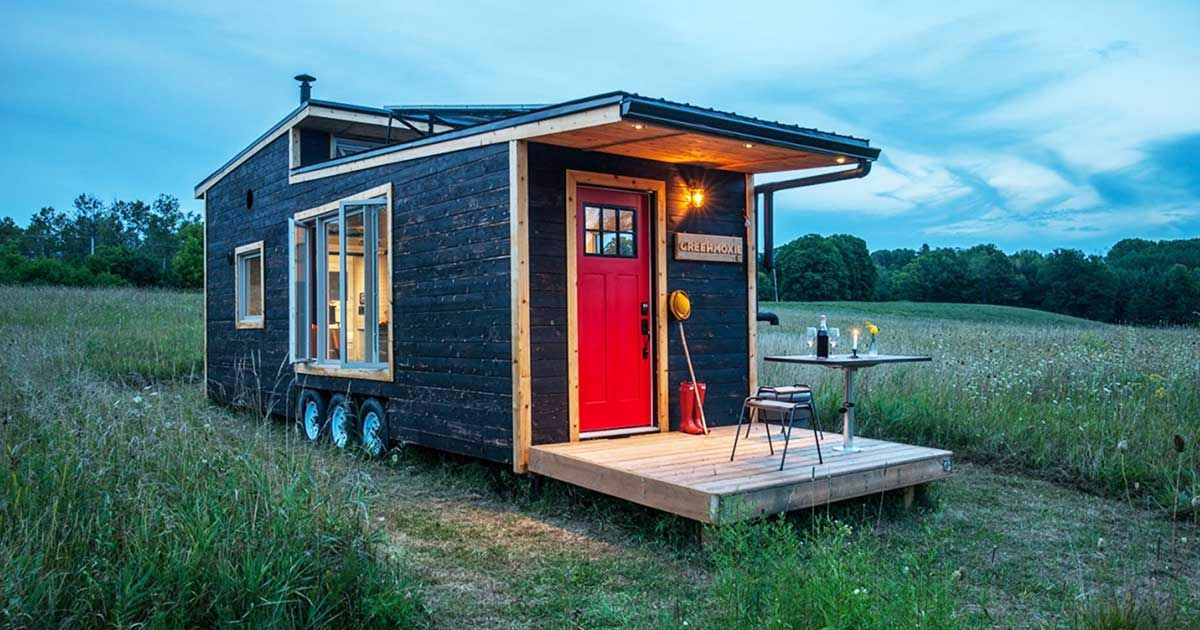 Come see a tiny house that combines unique design and for Sf globe tiny homes